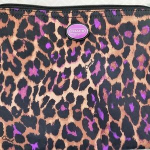 Coach Fabric Pouch